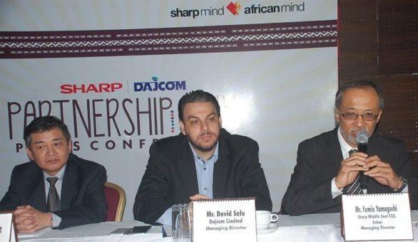 SHARP and Dajcom Partnership Announcement - BellaNaija - March2014031