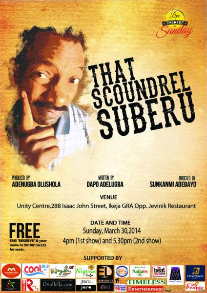 That Suberu Scoundrel - BellaNaija - March - 2014