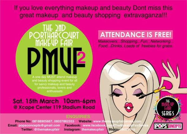 The 2nd Port Harcourt Makeup Fair - BellaNaija - March 2014