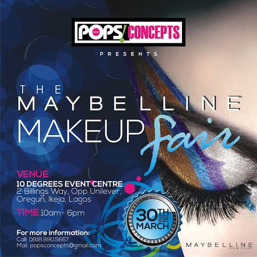 The Maybelline Makeup Fair 2014 - BellaNaija - March 2014