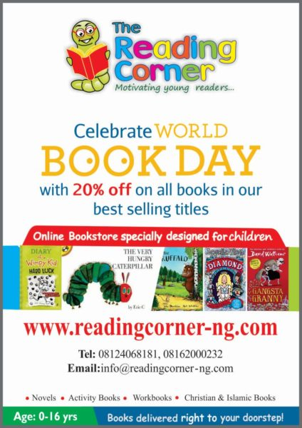 The Reading Corner - BellaNaija - March 2014