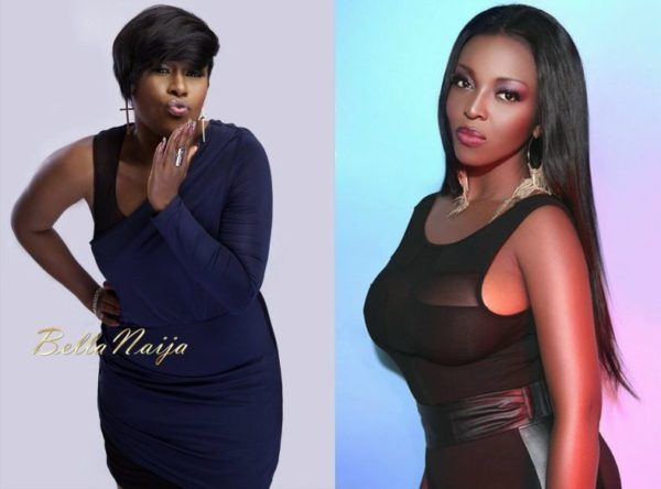 Uche Jombo & Yvonne Okoro - March 2014 - BellaNaija Movies & TV - BellaNaija