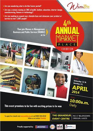 WimBiz 4th Annual Market Place 2014 - BellaNaija - April2014