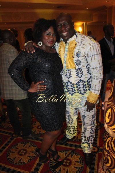 Lydia Forson & Charles Awurum