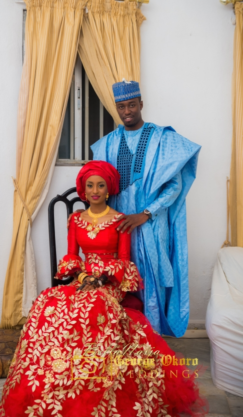 Hausa brides the nigerian wedding dress styles for Nigerian traditional wedding dresses pictures