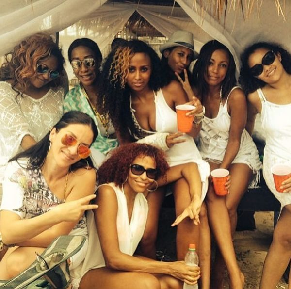 All White Beach Party - April 2014 - BellaNaija - 035