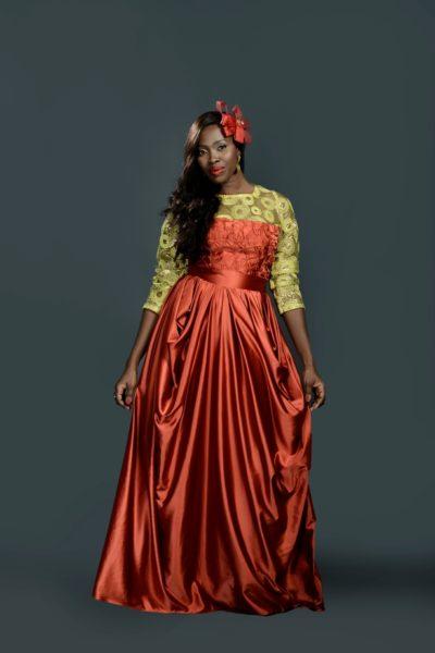 Ariyike Akinbobola for Isi Atagamen Fashion Label - April 2014 - BellaNaija 01