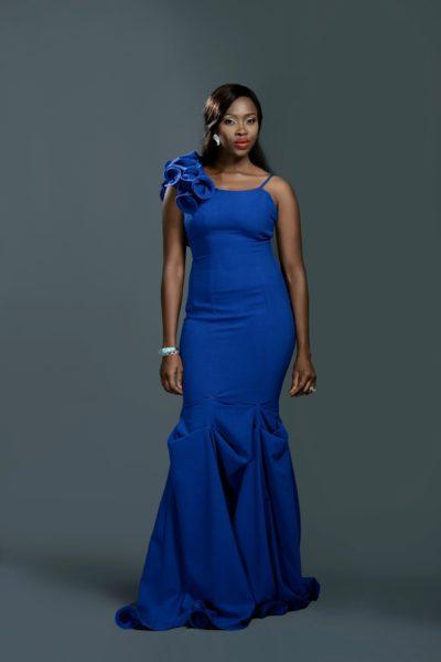Ariyike Akinbobola models the dress for the lookbook