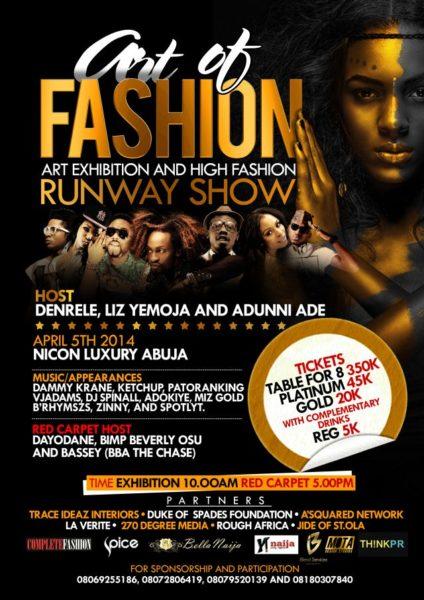 Art of Fashion Runway Show - April 2014 - BellaNaija
