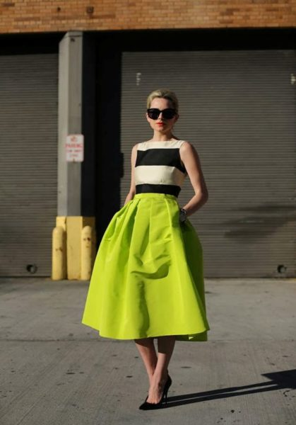AwedbyMonica Spring Trends the Midi Skirt - BellaNaija - April 2014008