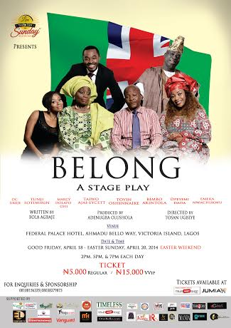 Belong - BellaNaija - April 2014