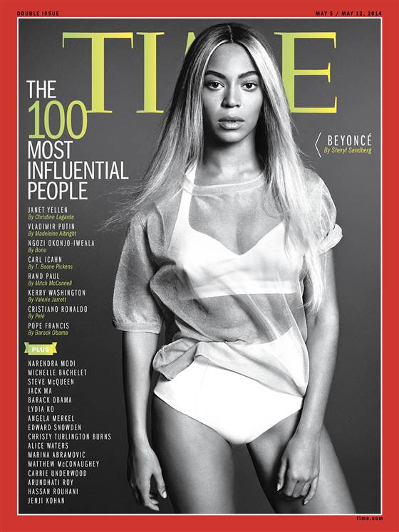 Beyonce - Time Magazine - April 2014 - BellaNaija.com