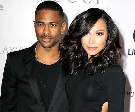 Big Sean & Naya Rivera - April 2014 - BellaNaija