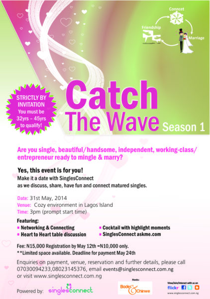 Catch The Wave - BellaNaija - April - 2014