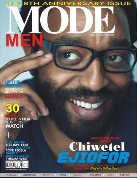 Chiwetel Ejiofor - Mode Men Magazine - April 2014 - BellaNaija.com