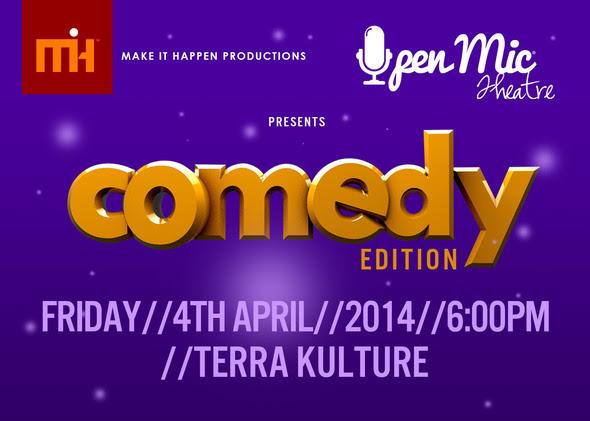 Comedy Edition - BellaNaija - April - 2014