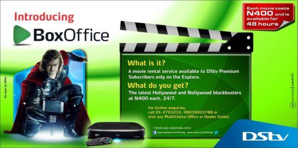 DStv Box Office Rental - BellaNaija - April 2014