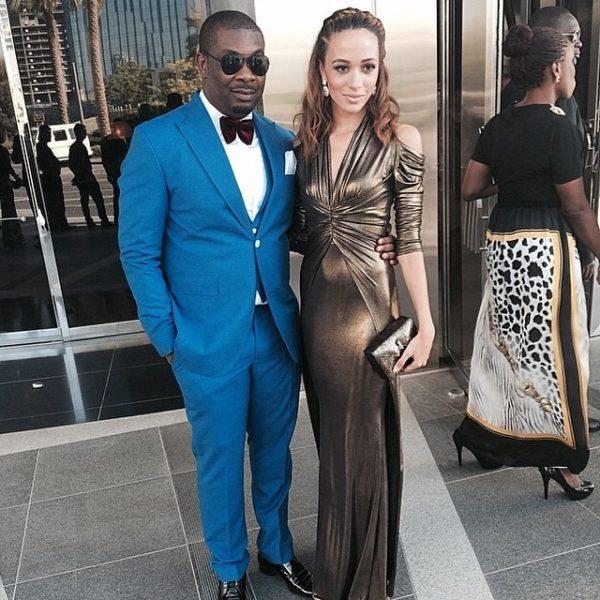 Don Jazzy & Eku Edewor