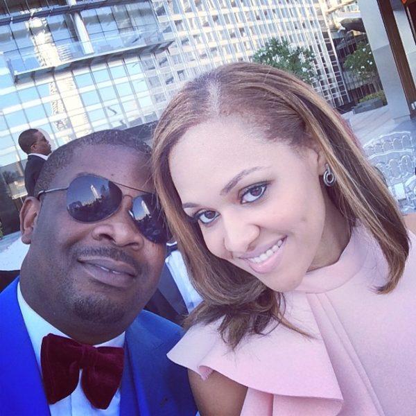 Don Jazzy & Tania Omotayo