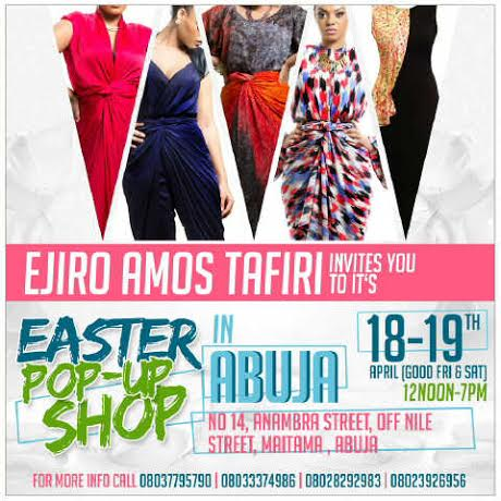 Ejiro Amos Tafiri Pop-Up Shop in Abuja - BellaNaija - April 2014