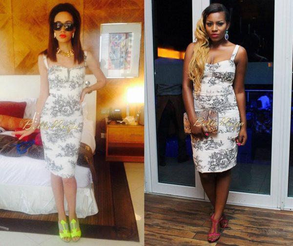 Eku Edewor & Liz Yemoja in Elizabeth Waldorf - April 2014 - BN Pick Your Fave - BN Style - BellaNaija.com