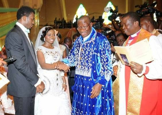 Faith Sakwe Goodwill Edward Wedding Goodluck Patience Jonathan - BellaNaija002