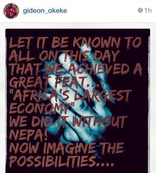 Gideon Okeke - Bella Naija