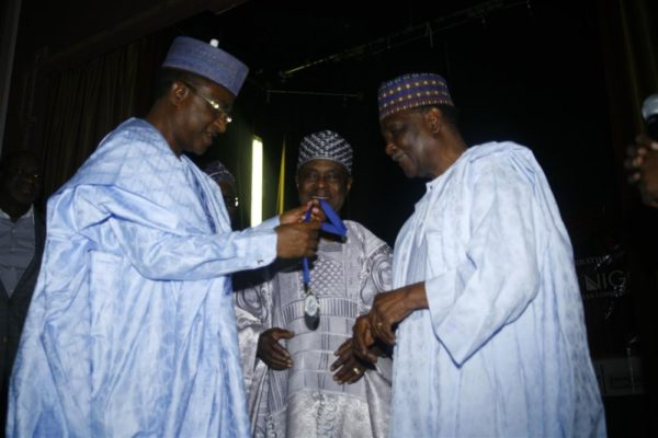 Governor Yaguda and General Gowon
