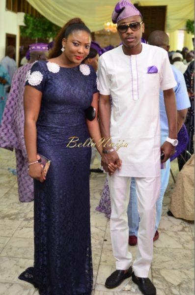 Hadiza Raisa Okoya & Olamiju Alao-Akala Wedding - AsoEbi BN Weddings Glam for BellaNaija - April 2014 - 01