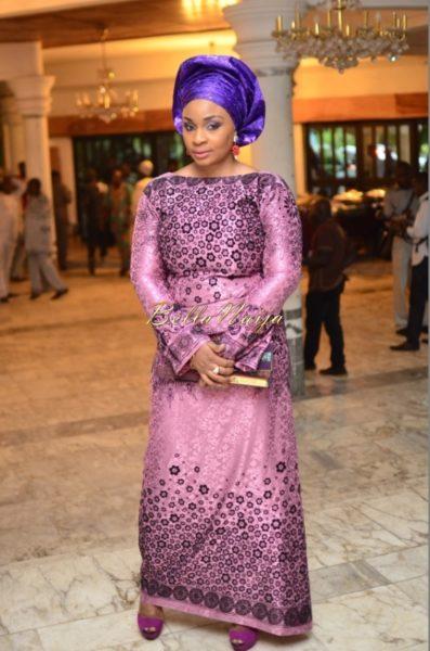 Hadiza Raisa Okoya & Olamiju Alao-Akala Wedding - AsoEbi BN Weddings Glam for BellaNaija - April 2014 - 014