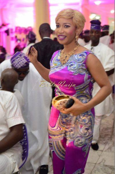 Hadiza Raisa Okoya & Olamiju Alao-Akala Wedding - AsoEbi BN Weddings Glam for BellaNaija - April 2014 - 019