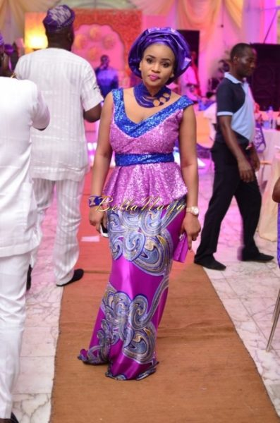 Hadiza Raisa Okoya & Olamiju Alao-Akala Wedding - AsoEbi BN Weddings Glam for BellaNaija - April 2014 - 023