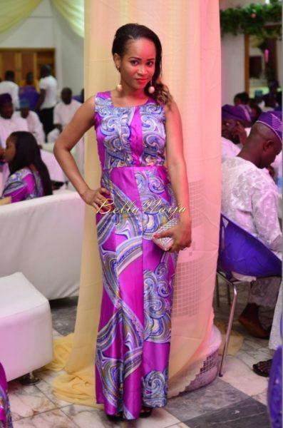 Hadiza Raisa Okoya & Olamiju Alao-Akala Wedding - AsoEbi BN Weddings Glam for BellaNaija - April 2014 - 03