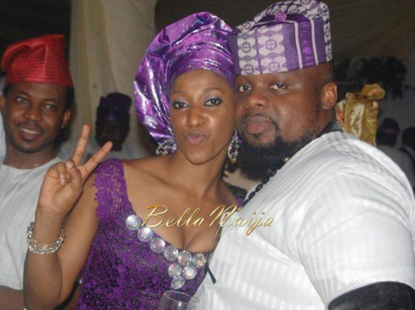 Hadiza Raisa Okoya & Olamiju Alao-Akala Wedding - AsoEbi BN Weddings Glam for BellaNaija - April 2014 - 045