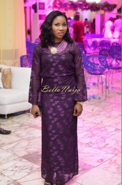 Hadiza Raisa Okoya & Olamiju Alao-Akala Wedding - AsoEbi BN Weddings Glam for BellaNaija - April 2014 - 07