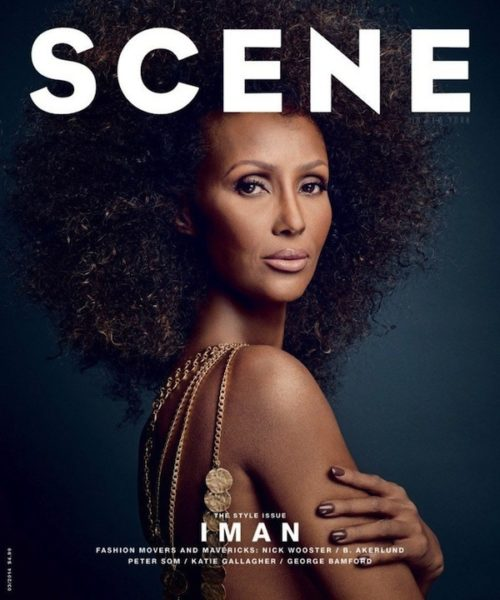 IMAN for Scene Magazine March 2014 - BellaNaija - April2014