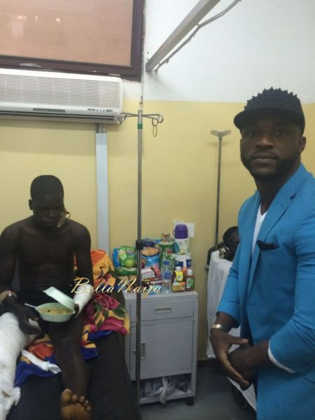 Iyanya visits Nyanya Hospitalised Victims - April 2014 - BellaNaija - 029
