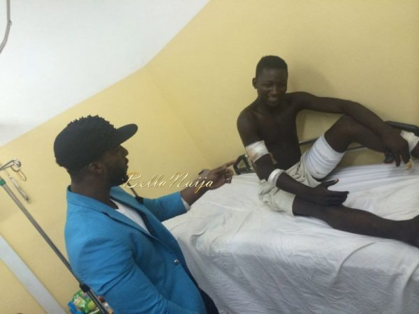 Iyanya visits Nyanya Hospitalised Victims - April 2014 - BellaNaija - 030