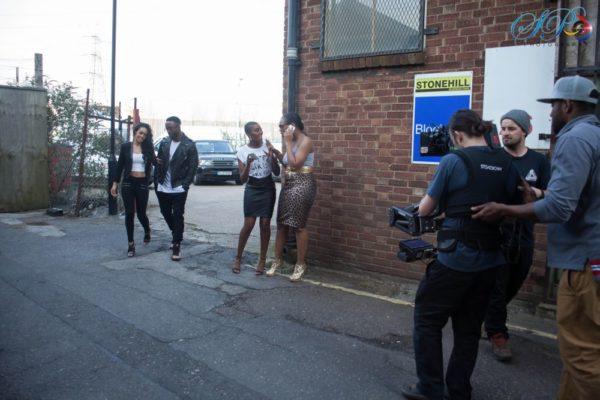 Iyanya's Away Music Video Shoot in London - April 2014 - BellaNaija - 044