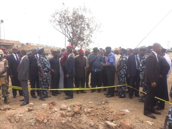 Jonathan Visits Nyanya Bombing Scene & Victims at Hospital - April - BellaNaija.com 02