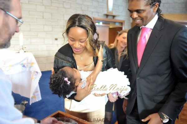 Kanu Nwankwo's Daughter's Christening - April 2014 - BellaNaija - 034