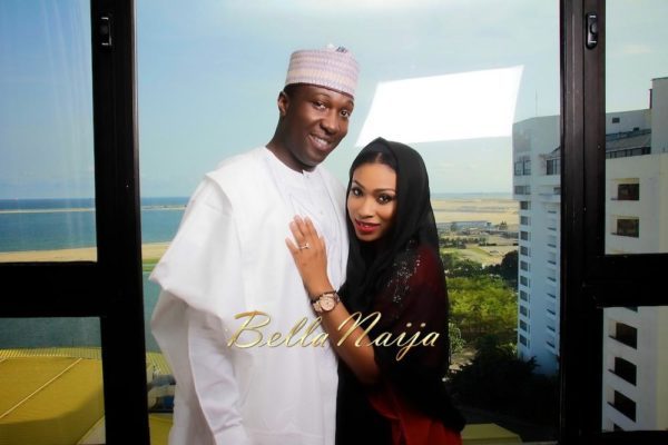 Karimot Bamisedun & Ahmed Tukur Pre-Wedding Shoot | BellaNaija |BenSmart for Konverge Media_Photosturvs 17575