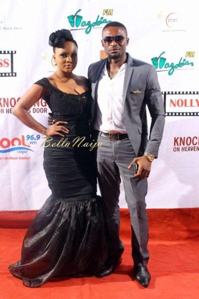 Kenneth Okolie & Fiancée
