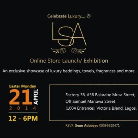 LSA Online Store Launch - Bellanaija - April 2014