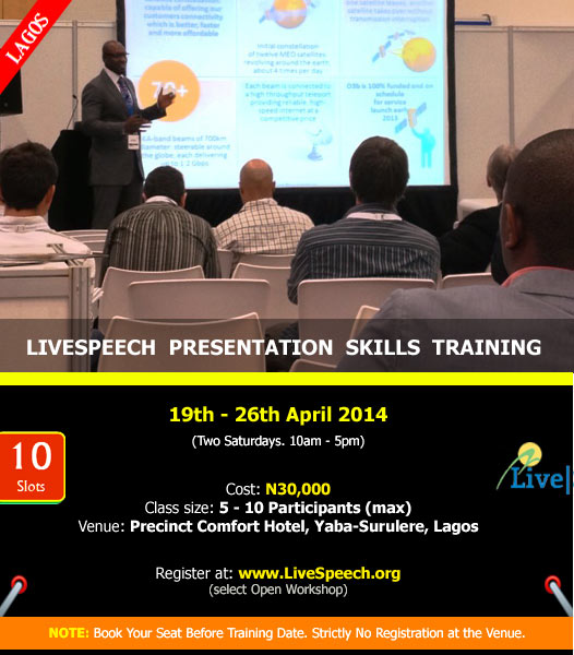 LiveSpeech-Training-April-2014