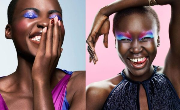 Lupita Nyong'o & Alek Wek - April 2014 - BellaNaija.com