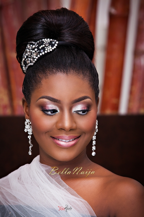 Bridal Makeup Hairstyle Images : BN Bridal Beauty: The Perfect Bridal Portrait Gazmadu ...