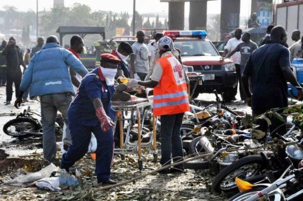 Nyanya Bomb Blast Scene Bella Naija