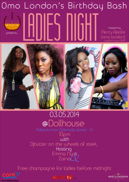 Omo London's Birthday Bash - BellaNaija - April - 2014