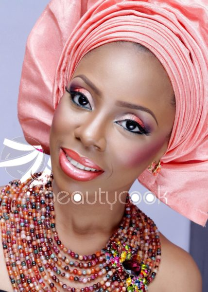 Omon Beauty of Beauty Cook Monochrome Makeup - BellaNaija - April 2014 (1)